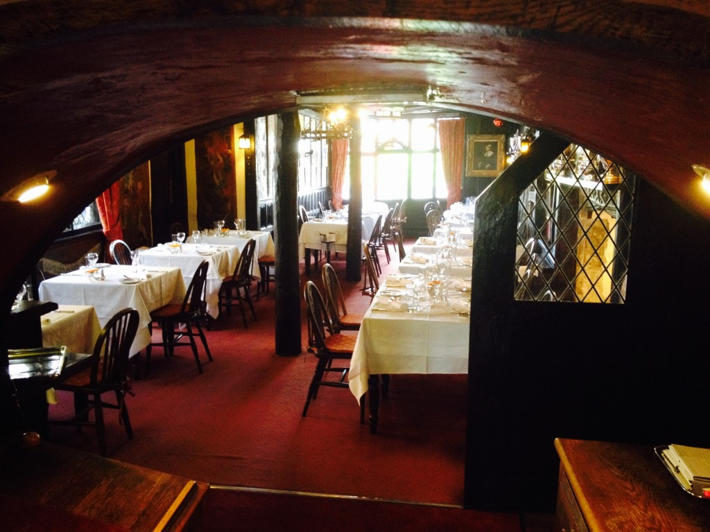 Linen Panelled restaurant