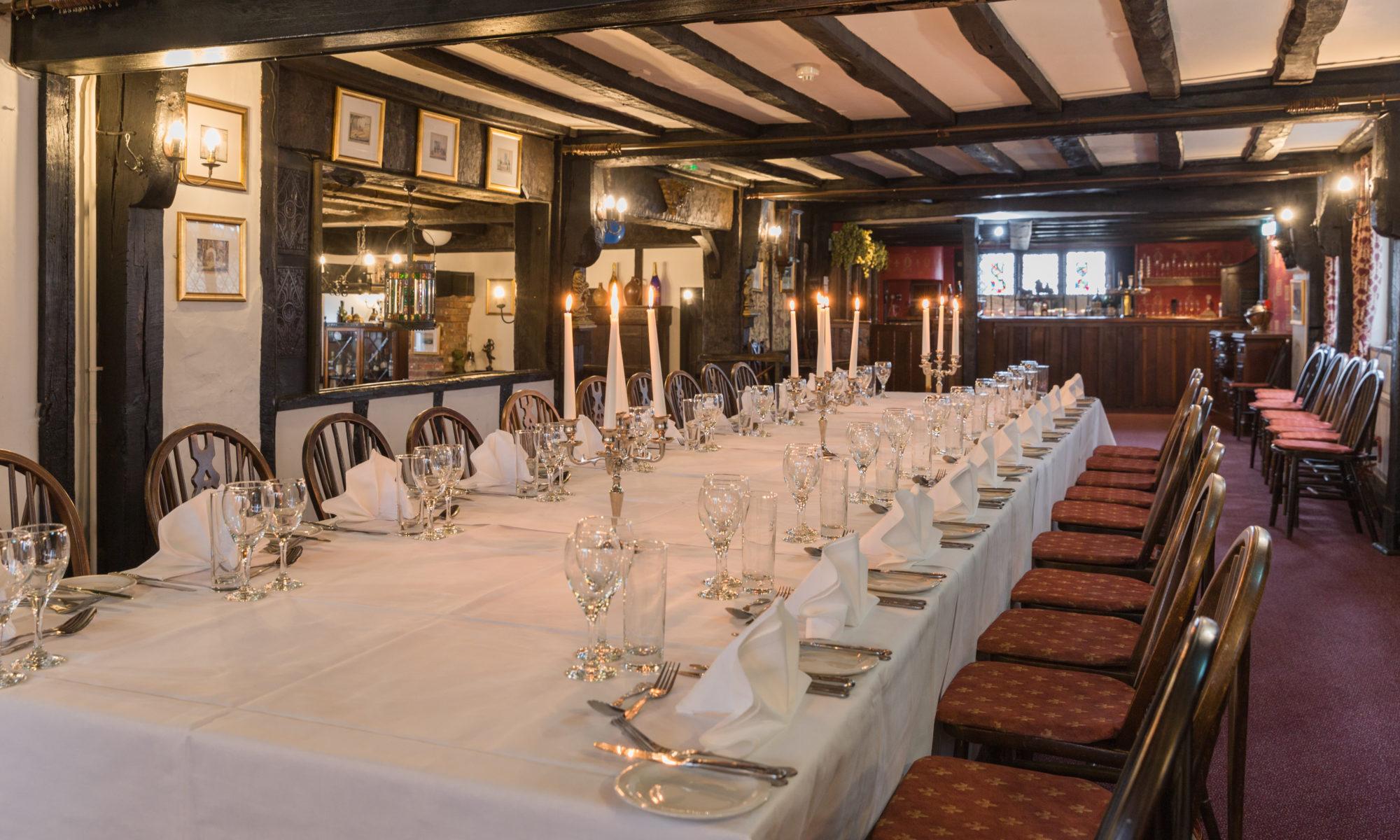Deco Latte De Bois private dining - the mermaid inn